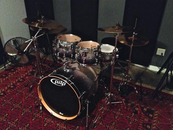 PDP Drum kit - Soundhouse Studios Vancouver Rehearsal Studio