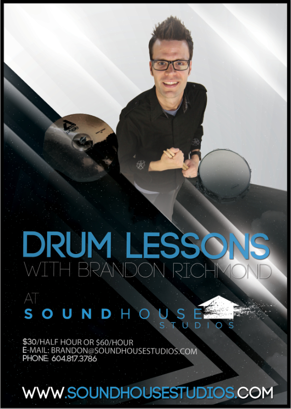 Vancouver Drum Lessons at Soundhouse Studios
