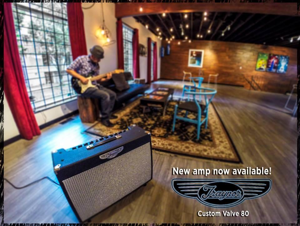 Traynor Custom Valve 80 - Soundhouse Studios - Vancouver's Premier Rehearsal Studio