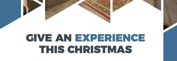 Give an Experience this Christmas with our new gift sessions